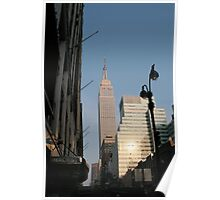 New York icons Poster