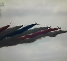 Red Arrows Split by Andy Jordan