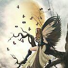 pxleyes birdy angel by I Made Widiadnyana