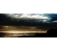 The great divide - Land, Sea and Air Photographic Print