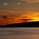 Portencross  Sunset by Paul Messenger