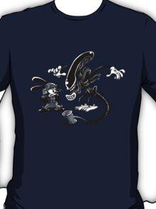 Alien vs Oswald T-Shirt
