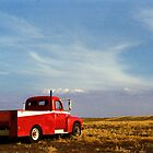 Farmer's Truck in the Field by Richard Buchanan II