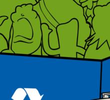 It's Easy Going Green Sticker