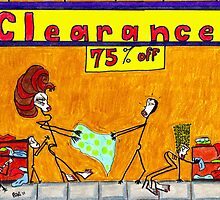 Clearance Sale! by Alberto  DeJesus