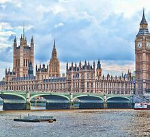 Houses of Parliament #2 by ElsieBell