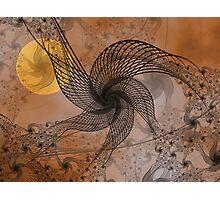 Spooky Moon Photographic Print
