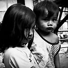 Cambodia Noir - The Slum Kids by Tyson Battersby
