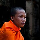 Khmer Monk by GayeL Art