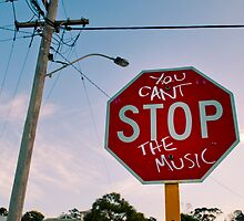 You Can't Stop The Music! by Tyson Battersby