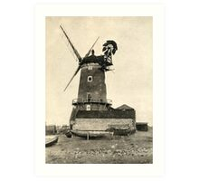 Cley Windmill 1880s Art Print
