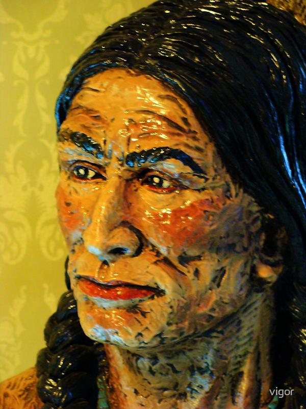 Native American by vigor
