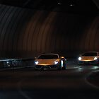 Lamborghini Gallardo's - Tunnel Love by Jan Glovac Photography