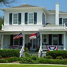 House of Captain J J Adkins circa 1887 in Southport North Carolina by MeMeBev