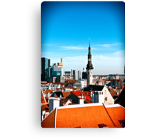 View from Toomepa. Canvas Print