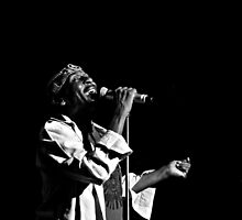 Jimmy Cliff (B&W) by Mojca Savicki