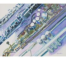 I'm Still Painting on the Keys Photographic Print