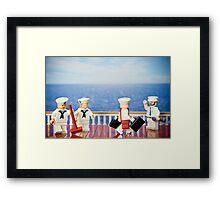 A Sailor's Life Framed Print