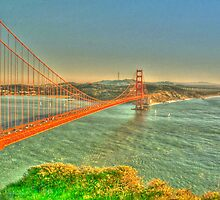 The Golden Gate Bridge  by Alberta Brown Buller
