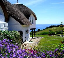 English Cottage by Charmiene Maxwell-batten