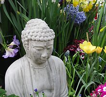 Buddha Garden by Jan Morris