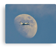 Moon Approach Canvas Print