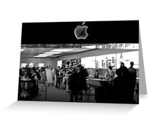 Apple Store Greeting Card