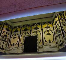 Art Deco Fire Curtain by MarianBendeth