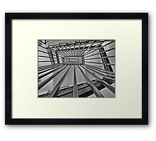 Internal Stairs Take Two Framed Print