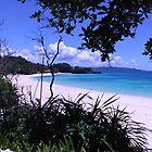 Boracay beach by lensbaby