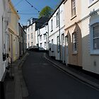 Fowey Street Scene by Rory Underwood