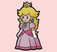 Princess Peach by melissagavin