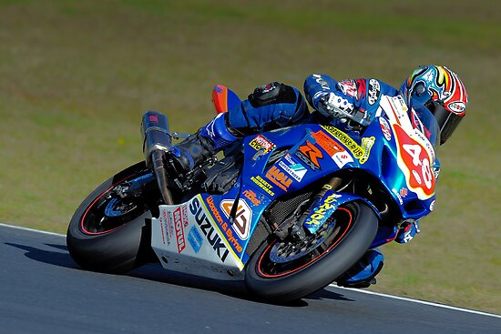 Brad Wootton #48 | FX Superbikes | Eastern Creek by Bill Fonseca