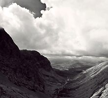 Ben Nevis and Carn Mor Dearg by Alex Maciag