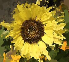 Sunflower Impresionist by Al Duke