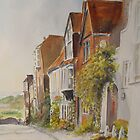 A lane in Rye - East Sussex by Beatrice Cloake Pasquier