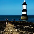 Pen Mon Lighthouse by Barry James Roberts