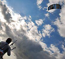Kite surfer by Adri  Padmos
