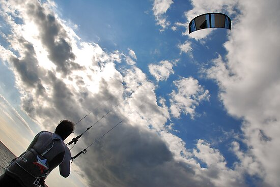 Kite surfer by Adri  Padmos