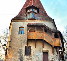 Sighisoara tower by lalylaura
