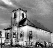 1809 Amish One Room Schoolhouse  by Marcia Rubin