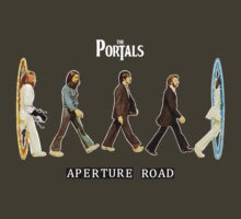 'Aperture Road' (Portal / The Beatles) by James Hance