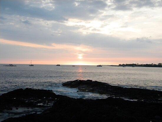 Amazing Hawaiian Sunset by Ryan Fritch
