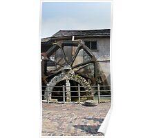 St. Augustine Water Wheel Poster