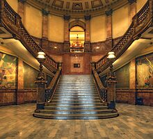 Rotunda Stairs (State Capitol Building, Denver, Colorado) by Brendon Perkins