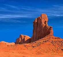 Monument Valley Butte (Arizona) by Brendon Perkins