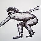 Street Dancing Man by W. H. Dietrich
