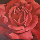 Red Rose by Martha Mitchell