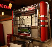 American diner jukebox by Chris Bentley
