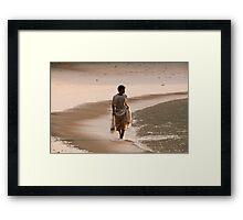 Havelock Fisherman Framed Print